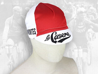 9527fe057c99 Retro Vintage style Team Cycling Cotton Cap Eroica - La Casera - FREE  SHIPPING