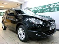 Nissan Qashqai N-TEC 1.5 DCI [5X SERVICES, SAT NAV, PANORAMIC ROOF. 7 SEATS, and