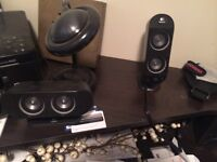 Logitec 5 Speaker and Sub