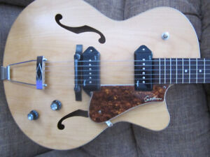 Beautiful Godin Archtop   (or + Roland Cube 30 amp )   PEI