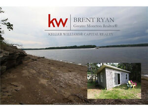 Beautiful Waterfront lot with additional lot and cottage