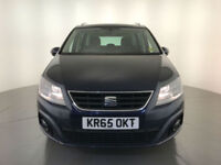 2015 65 SEAT ALHAMBRA SE TDI AUTOMATIC DIESEL 7 SEATS 1 OWNER FINANCE PX WELCOME