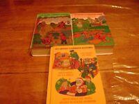 3 Livres avec 3 histoires par livres a $3.00 le livre