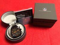 TAG HEUER CARERA SPACE X Black & Orange Chronograph Swiss Made Luxury Wrist Watch