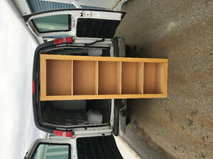MOVING! Wood book shelf