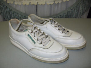Mephisto Women's White Leather Running Shoes Size 9.5