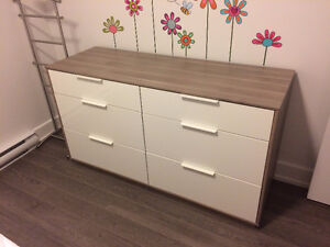 Commode 6 tirroirs Nyvoll IKEA 6-drawer Dresser