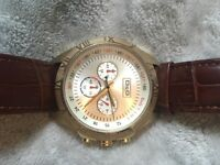 Genuine D&G watch replaced strap