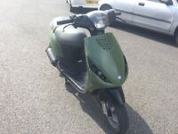 Piaggio zip 50cc gilera vespa moped speedfighter