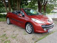 Peugeot 207 CC 1.6 THP 150 Coupe GT **Finance Form £27.05 Per Week**