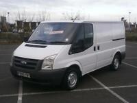2010 60 FORD TRANSIT 2.2 TDCi DURATORQ 85PS 260S LOW ROOF SWB PANEL VAN WHITE