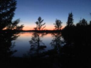 Trout lake near kenora