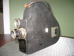 CINE KODAK MODEL E - VINTAGE 16MM VIDEO CAMERA * 1937 *
