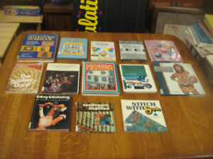 Crafters books Knitting , Crocheting , Dollhouses & More