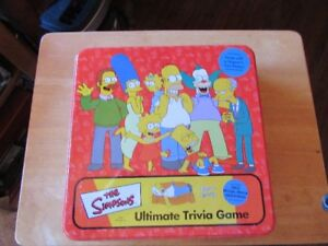 SIMPSONS ULTIMATE TRIVIA GAME (board game) - REDUCED!!!!