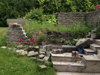 STUDENT WANTED TO FIX BRICK GARDEN WALL - $100
