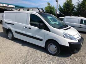 Citroen Dispatch 1.6HDi ( 90 ) LWB L2 1200 H1 2010 60 reg 74621 miles only