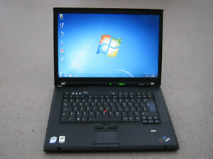 ORDINATEUR PORTABLE LENOVO T61 2 GHZ DUAL CORE