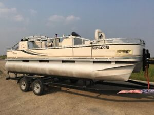 2007 Tahoe 20ft combo pontoon, 90hp!