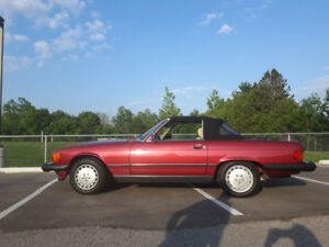 1989 Mercedes 560 SL for sale