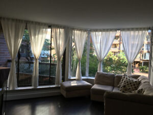 Furnished 1-Bedroom Downtown Vancouver