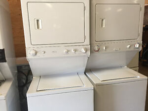 GE space saver washer/dryer combo