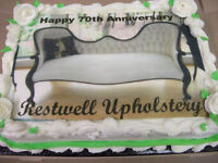 RESTWELL UPHOLSTERING 70TH ANNIVERSARY BASH **