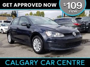 2016 VW Golf $109B/W TEXT US FOR EASY FINANCING! 587-582-2859