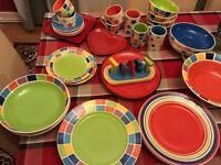 Huge array of Whittards crockery- all coordinating designs from same colour palette