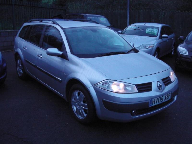2005 renault megane dynamique sport tourer estate 16v estate petrol in saltford bristol. Black Bedroom Furniture Sets. Home Design Ideas