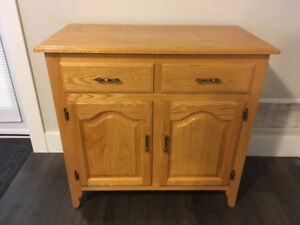 Solid Oak Cabinets