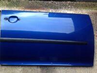 VW GOLF MK5 DOOR SKINS X4 LASER BLUE PEARL LC5J