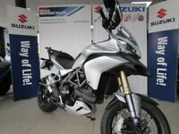 DUCATI MULTISTRADA 1200 ABS, 3 BOX DUCATI LUGGAGE - RECENTLY REDUCED