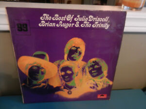 Vinyl Record The Best of Julie Driscoll,Brian Auger,The Trinity