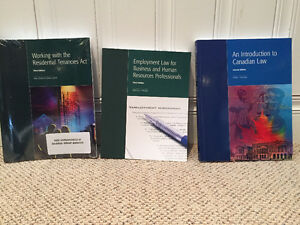 ASSORTED CANADIAN LAW BOOKS FOR SALE