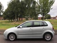 VOLKSWAGEN POLO 1.4TDI BLUEMOTION TECH (2009 09 REG) DIESEL 5 DOOR