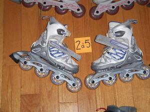 Plusieurs paires de patin a roues alignés roller blade ajustable Saint-Hyacinthe Québec image 3