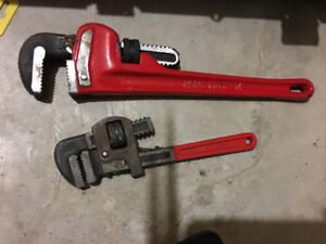 2 Plumbers Wrenches