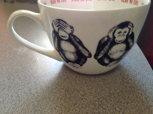Portobello bone china mug cup