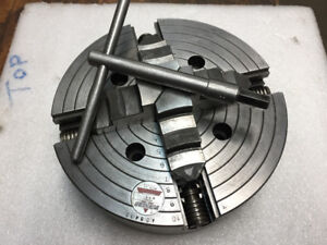 """10""""  Lathe Chuck 4 Jaw Independent"""