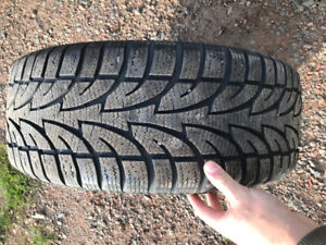 Lightly used winter tires and nearly new rims