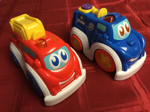 Police Car & Fire Truck $10 all
