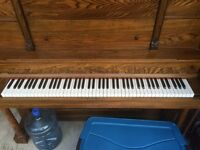 Free up right piano completely restored