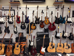 ELECTRIC, BASS AND ACOUSTIC GUITARS THAT ALL RANGE IN PRICE Kingston Kingston Area image 2