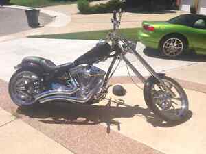 2008 chopper motor cycle 1890cc S&S Evo lowkm