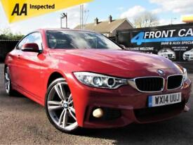 2014 BMW 4 SERIES 420I XDRIVE M SPORT AUTOMATIC COUPE PETROL COUPE PETROL