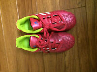 Adidas kids outdoor soccer cleats - size 12