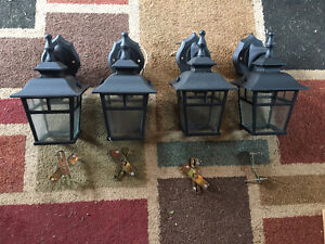 Outdoor Wall Lights - $20/each