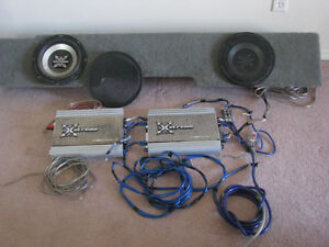 amp and subs XTREME