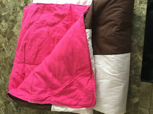 Selling two homemade quilts with fleece lining